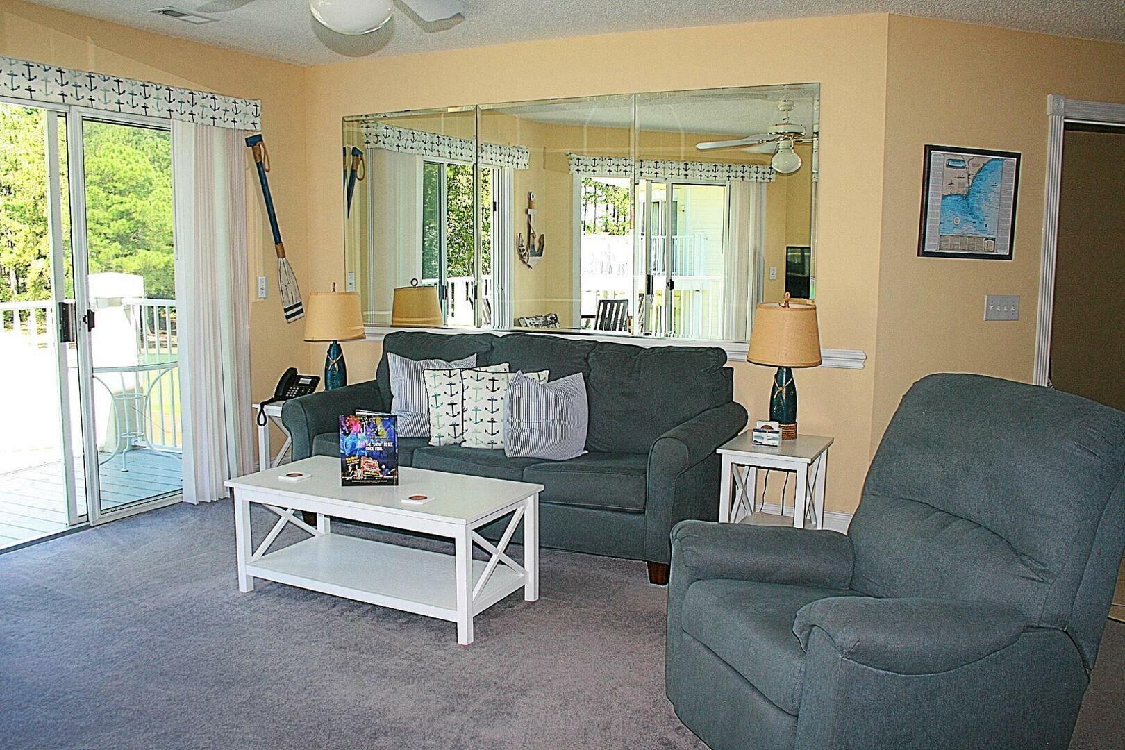 1107 2 Bedroom/2 Bath Villa