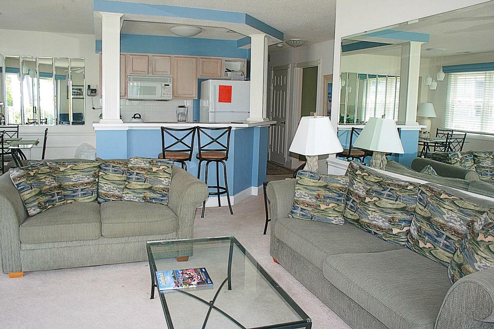 308 2 Bedroom/2 Bath Villa
